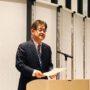 永田支部長の司会